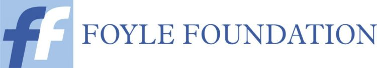 The Foyle Foundation logo, which is blue and white and includes two letter Fs, one blue, one white and the words 'Foyle Foundation'.